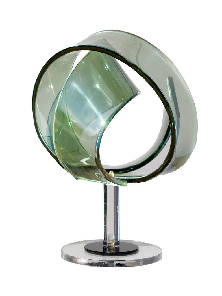 Scultura_Corpo_Luminoso_Plexiglass_Paletta Teorico Astrazione Immateriale